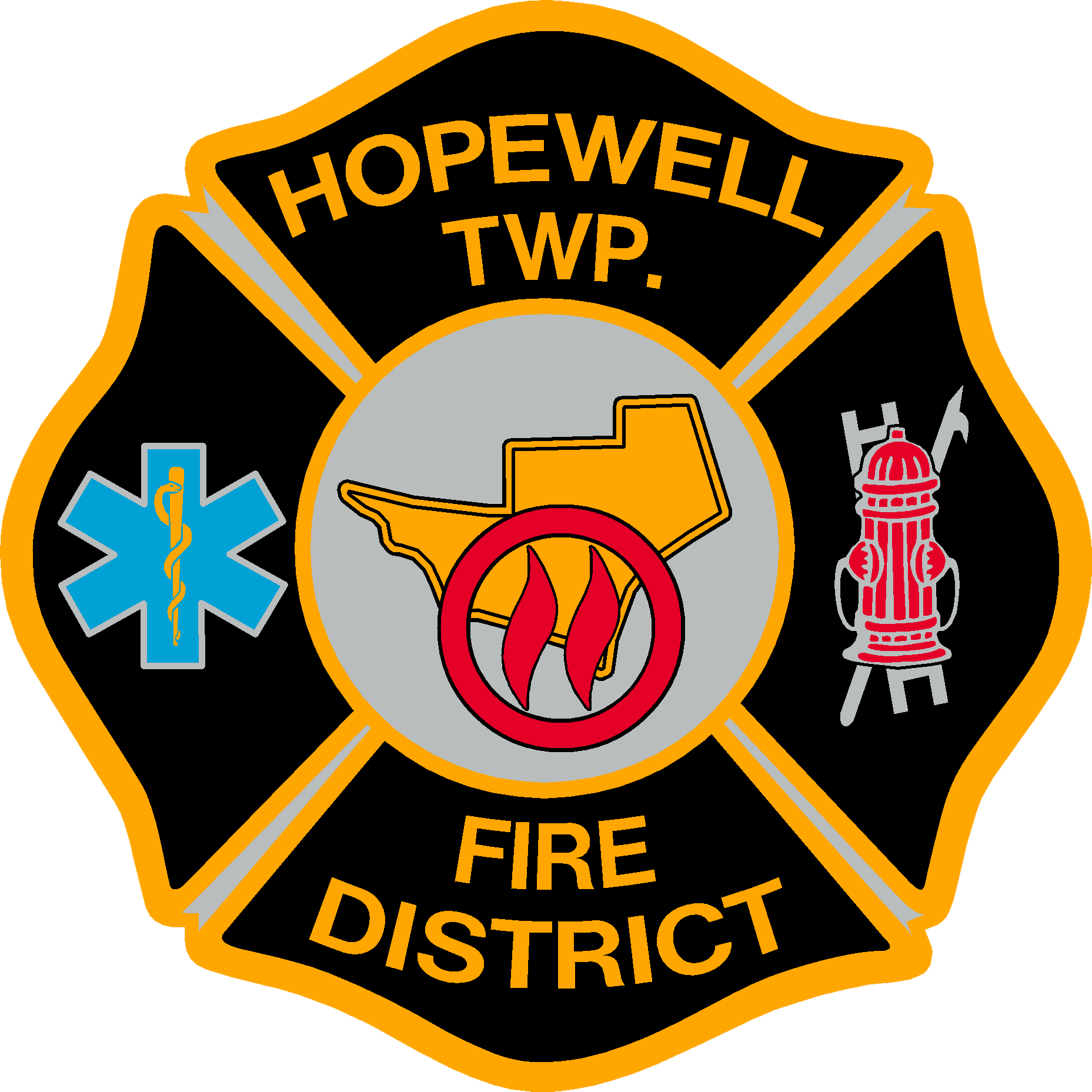Hopewell Township  Fire District Patch