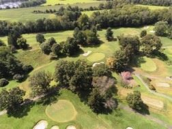 Aerial view of the Hopewell Valley Golf Club