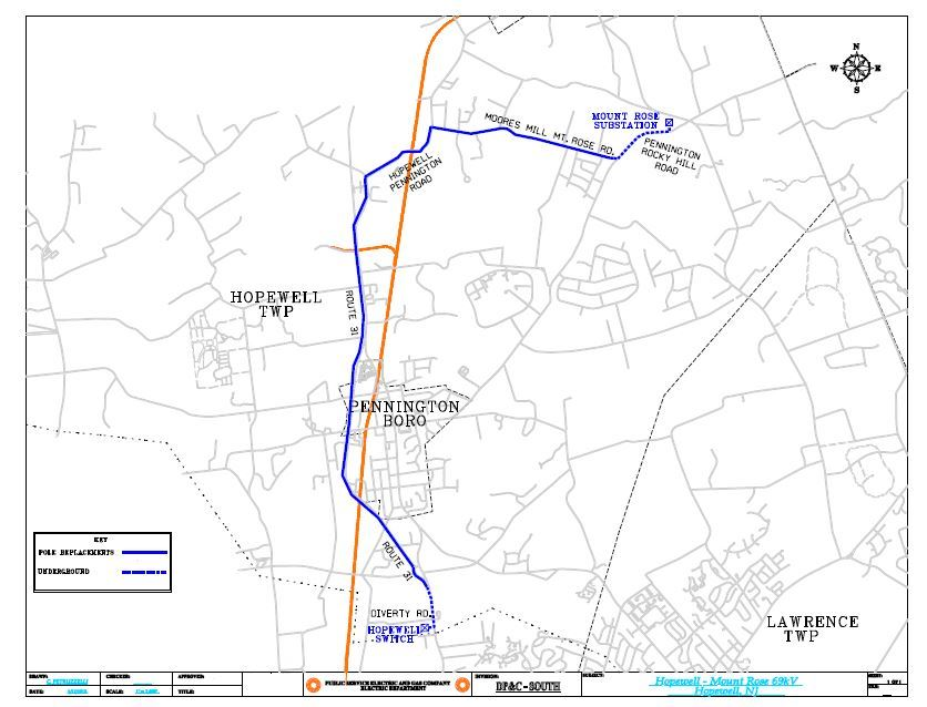 PSEG road work starting feb22 map